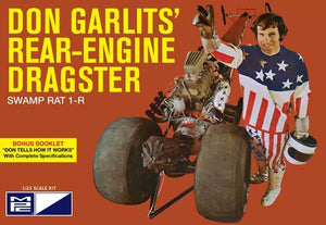 MPC868 Don Garlits Swamp Rat 14 Rail Dragster Plastic Model Kit