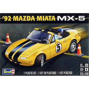 Revell 1/24 '92 Mazda Miata MX-5 Plastic Model Kit