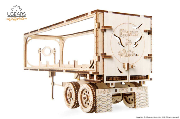 Ugears Trailer for Heavy Boy Truck VM-03
