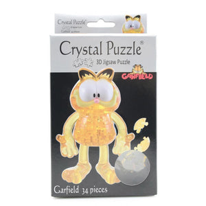 3D Garfield Crystal Puzzle