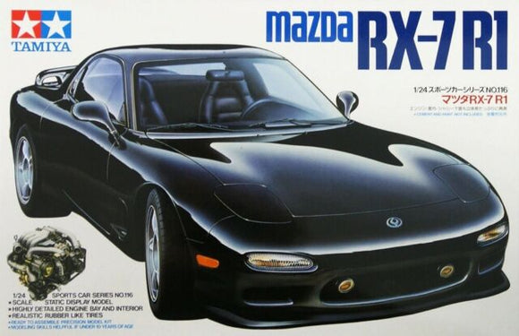 Tamiya Mazda RX-7 R1 - T24116 Plastic Model Kit