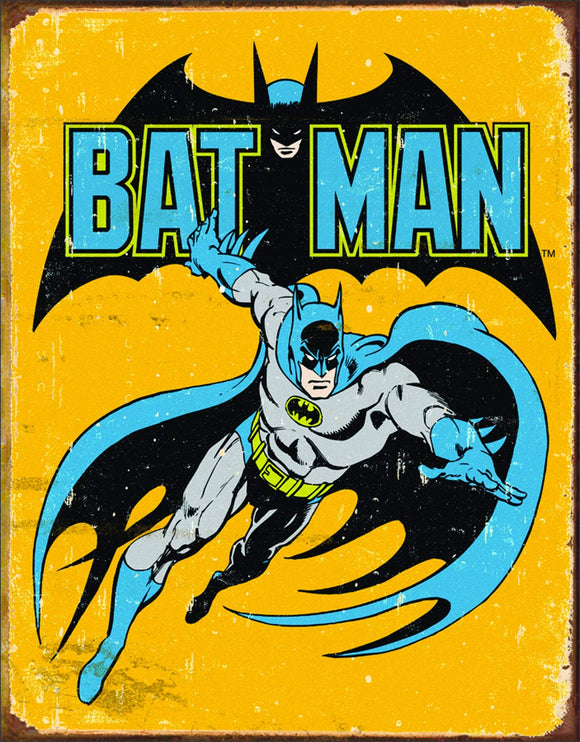 Tin Sign - Batman Retro
