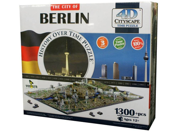 4D Cityscape: Berlin 1300 Pieces