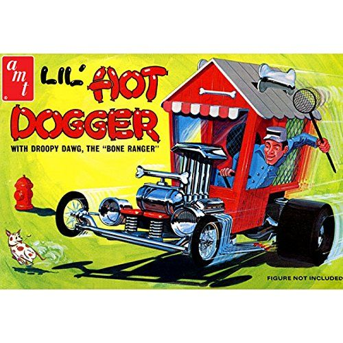 AMT908 Lil Hot Dogger Show Rod Plastic Model Kit