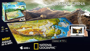 4D Ancient China (Nat Geo)  600 Pieces