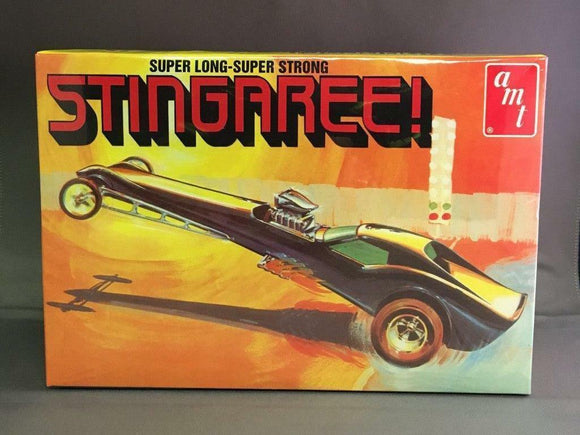 AMT 1/25 Stingaree Show Dragster Plastic Model Kit (Vintage)