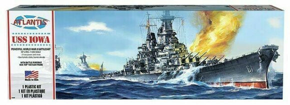 1:535 USS IOWA battleship plastic kit