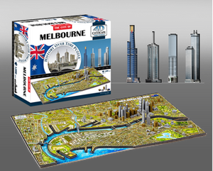 4D Cityscape: Melbourne  1200 Pieces