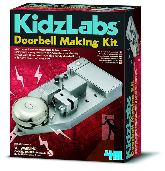 Doorbell Making Kit - 4m Kidz Labs