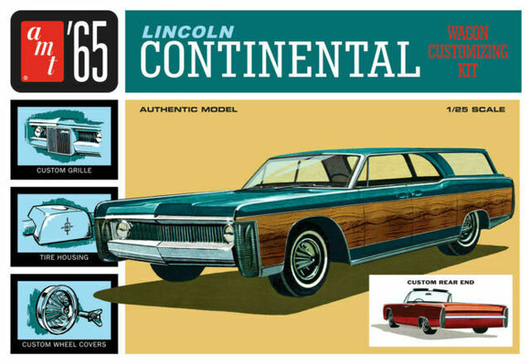 AMT1081 '65 Lincoln Continental Plastic Model Kit