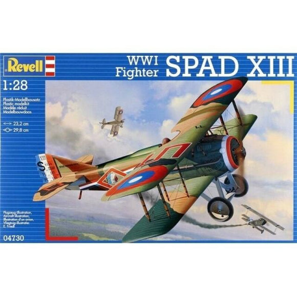 Revell 1/28 WWI Fighter SPAD XIII Plastic Model Kit