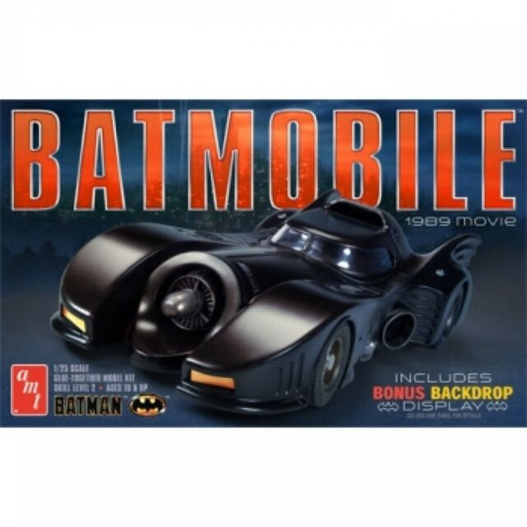 1/25 1989 Batmobile Plastic Model Kit