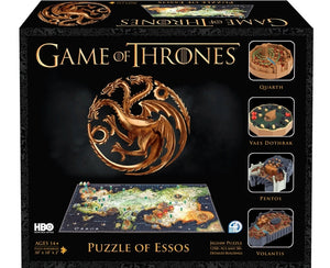 4D Game Of Thrones Essos 1400 Pieces