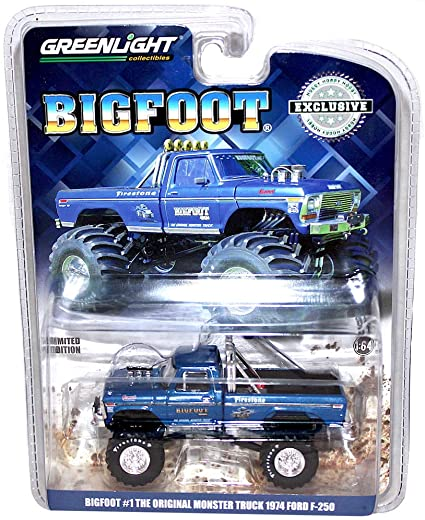 1/43rd 1974-79 Ford F-250 BigFoot Original Monster Truck by Greenlight