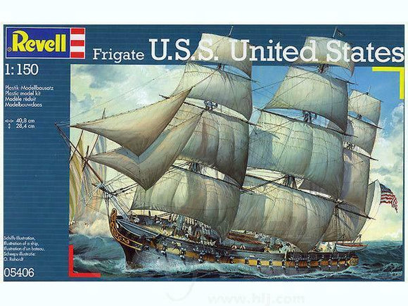 Revell 1/150 Frigate USS United States Plastic Model Kit