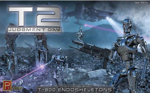 1:32 Terminator 2 Judgement Day T-800 Endoskeletons Plastic Kit
