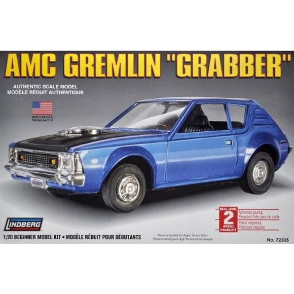 Lindberg 1/20 AMC Gremlin Grabber Plastic Model Kit