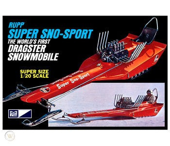 MPC 1/20 Rupp Super Sno-Sport Plastic Model Kit (Vintage)