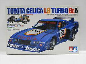Tamiya Toyota Celica LB Turbo Gr.5 - T24007 Plastic Model Kit