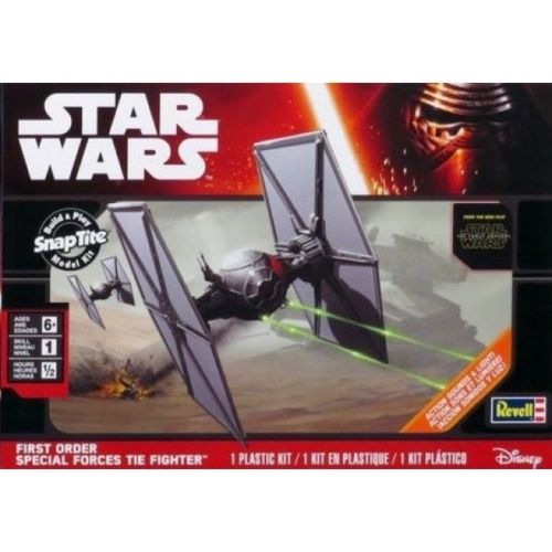 Revell Snaptite Star Wars First Order Special Forces Tie Fighter Plastic Kit