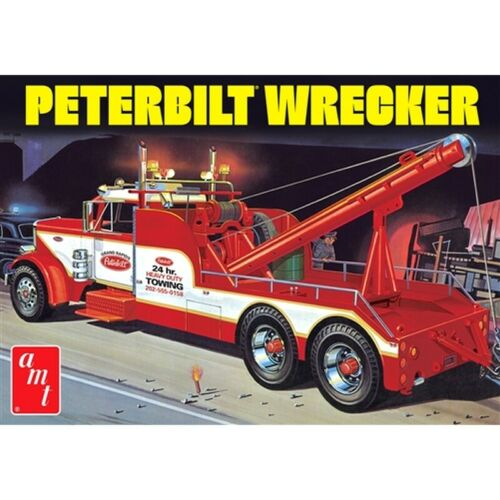 R2AMT1133 Peterbilt 359 Wrecker 1:25 Scale Model Kit