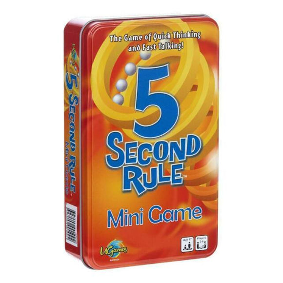 5 Second Rule Game Tin