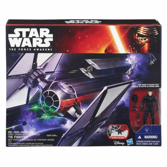 Star Wars - The Force Awakens 3.75 inch Vehicle First Order Special Forces TIE Fighter