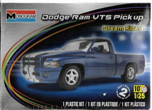 Revell 1/25 Dodge Ram VTS Pickup Plastic Model Kit