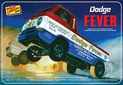 Lindberg HL135 Dodge Fever Wheelstander Plastic Model Kit
