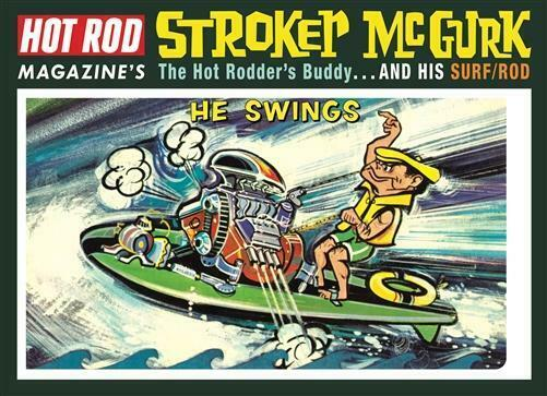 MPC873 Stroker McGurk Surf Rod Caricature Plastic Model Kit