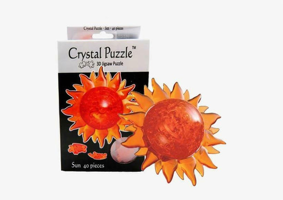 3D Sun Crystal Puzzle