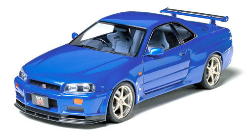 Tamiya Nissan Skyline GT-R V-Spec R34 T24210 Plastic Model Kit
