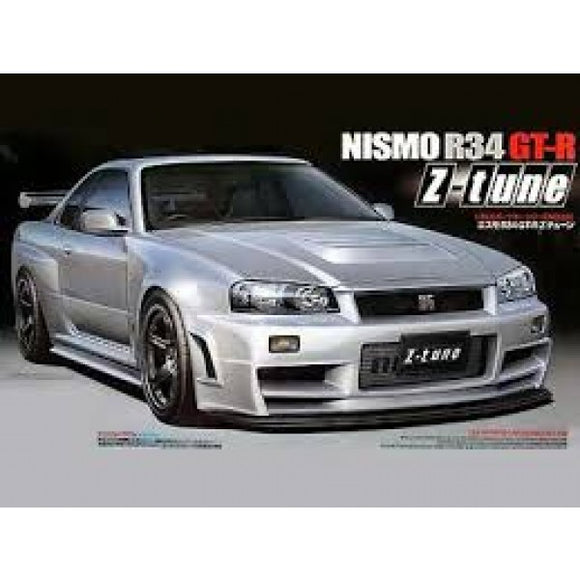 Tamiya Nismo R34 GT-R Z Tune - T24282 Plastic Model Kit