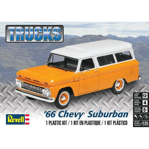 Revell 1/25 '66 Chevy Suburban Plastic Model Kit