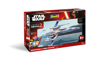 Revell Snaptite Resistance X-Wing Fighter Plastic Model Kit