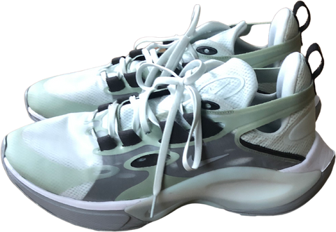 Sage-Light Gray Synthetic Nike Shoes Sneakers