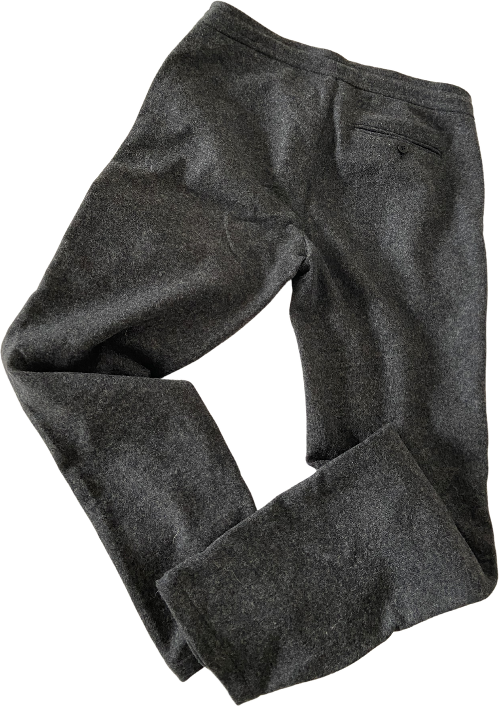 Slate Wool COS Trousers Draw String Size 34