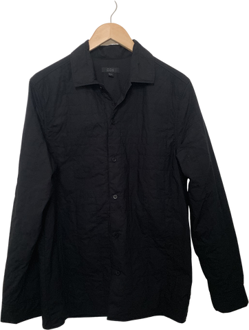 Black Cotton COS Shirt