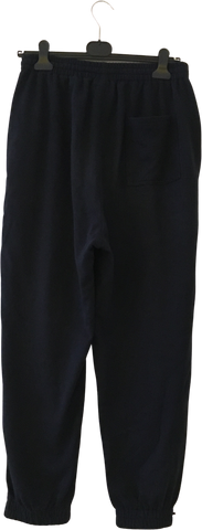 Black-Midnight Blue Polyester Modern Perks And Mini Sweatpants Cinched Leg Size 32