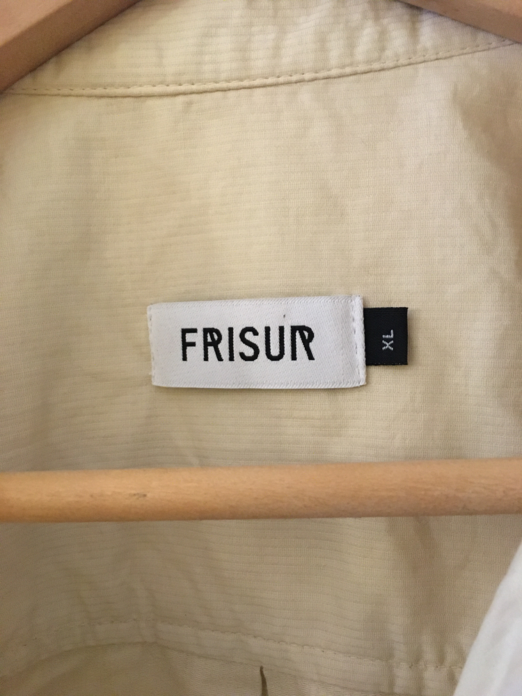 Straw Cotton Frisur Shirt  Size M/L