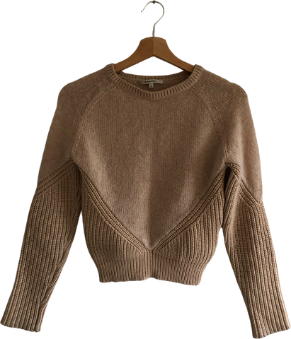 Beige Polyamide Carven Knit Top