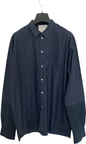 Navy Cotton Stephan Schneider Shirt Conceptual Detail
