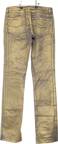 Gold Cotton / Acrylic Mix Zadig & Voltaire Jeans