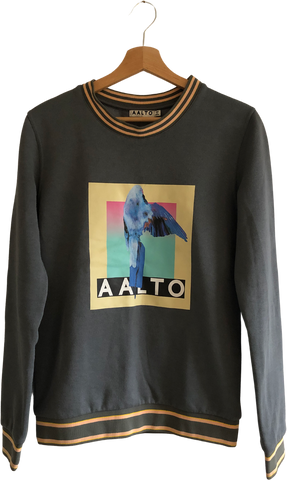 Morning Gray Cotton / Poly Mix Aalto Sweater