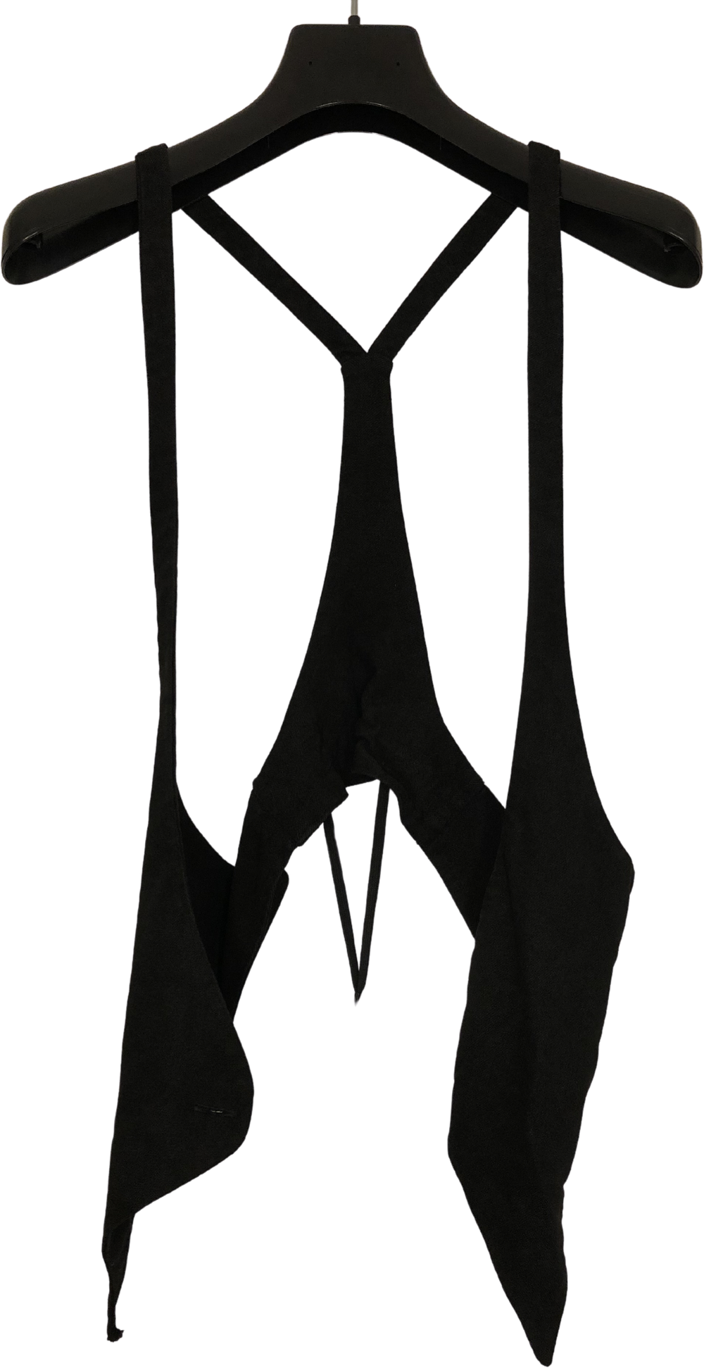 Black Cotton 11 By Boris Bidjan Saberi Harness Racer Back