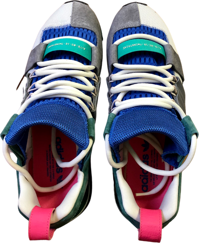 Colorful Synthetic Adidas Twinstrike Sneakers Conceptual Detail Size 44