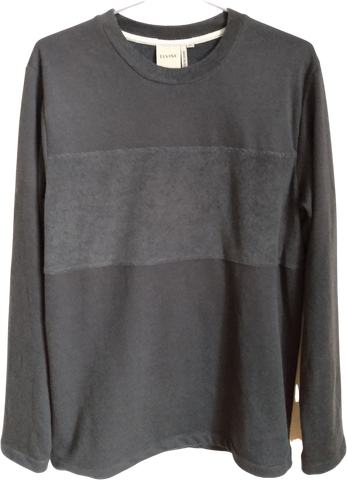 Black Cotton Mix Elvine Sweater