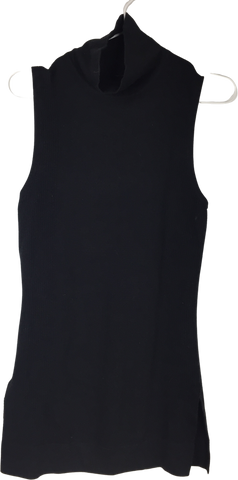 Black Cashmere Mix lululemon Tank Turtle Neck