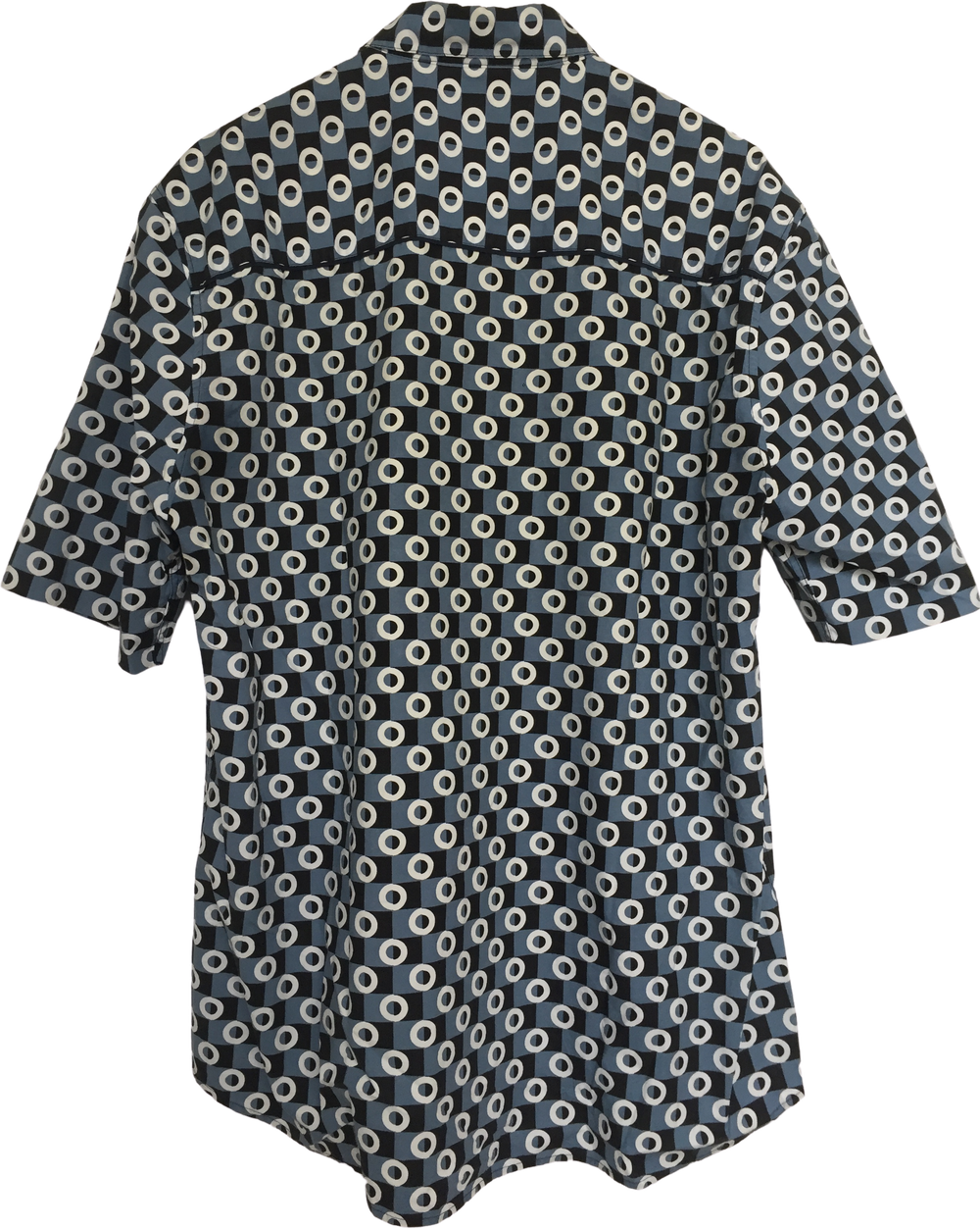 Grey-tones Cotton Marni At H&m Shirt short sleeve Conceptual Detail