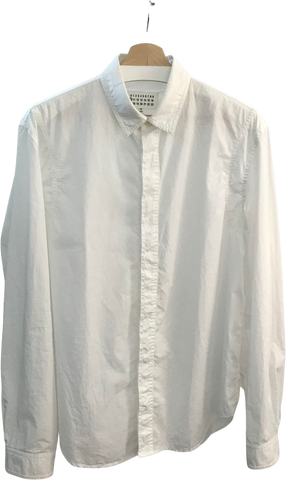 White Cotton Maison Martin Margiela Shirt